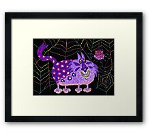 Close encounters of the weird kind: the web Framed Print