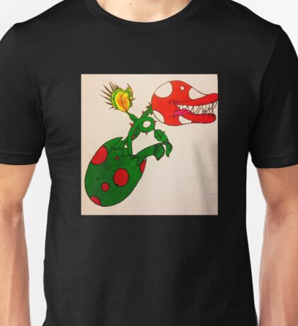 Piranha Plant Hatchling Unisex T-Shirt