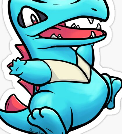 My little Totodile Sticker