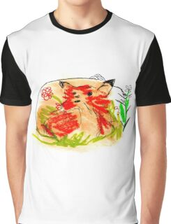 Babies foxes are free Graphic T-Shirt