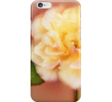 Rose Flower Peach White Garden Rose Floral Floral Fine Art iPhone Case/Skin