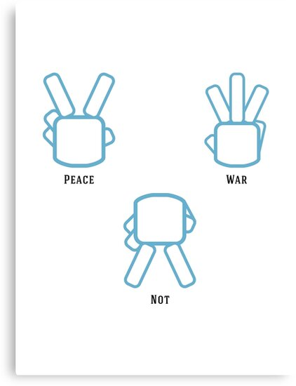 Peace Not War by Daniel Bevis