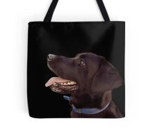 Benny, The Black Lab Tote Bag