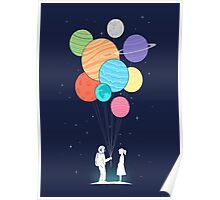 out of space love Poster