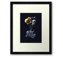 space balloon Framed Print