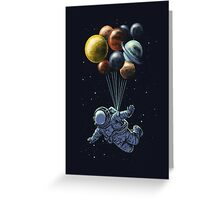 space balloon Greeting Card