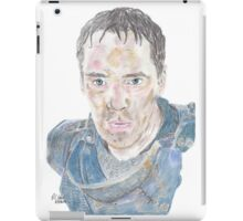 Benedict Cumberbatch as Richard III  iPad Case/Skin