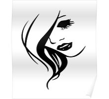 Woman in Mono Poster
