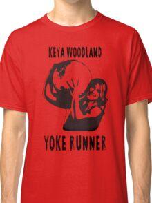 Keya Rachel Woodland - Yoke Runner Classic T-Shirt