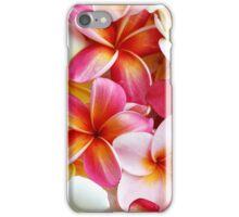 Plumeria Pink Frangipani Tropical Hawaiian Flower Floral Fine Art iPhone Case/Skin