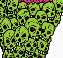 Skull Scream Cone Sticker