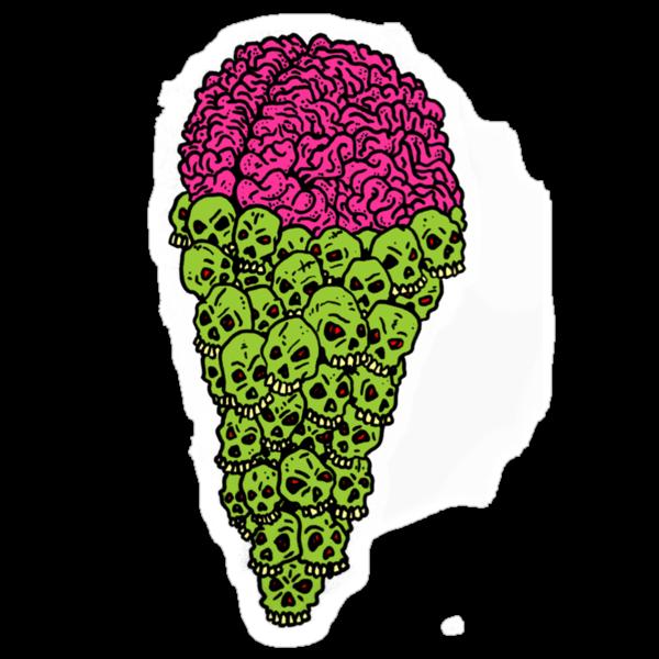 Skull Scream Cone by Stevan Hyde