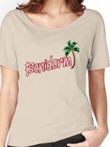BENIDORM LOGO FROM POPULAR TV SERIES CULT BRITISH TV Women's Relaxed Fit T-Shirt