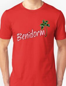 BENIDORM LOGO FROM POPULAR TV SERIES CULT BRITISH TV Unisex T-Shirt