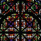 NGV Melbourne - Stained Glass Ceiling Detail. by John Dalkin