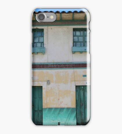 Green Windows and Doors iPhone Case/Skin