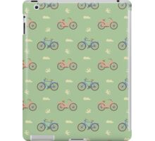 A good day for a bike ride. iPad Case/Skin