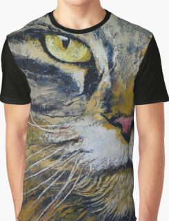 Norwegian Forest Cat Graphic T-Shirt