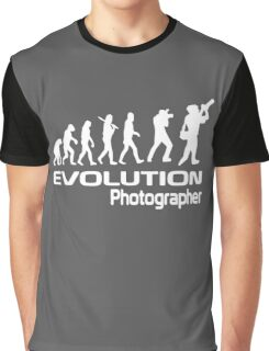 Evolution Of A Photographer Graphic T-Shirt