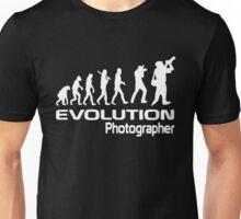 Evolution Of A Photographer Unisex T-Shirt