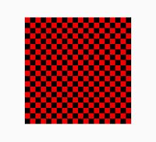 Black and Red Checkerboard Unisex T-Shirt