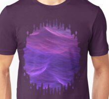Pink and Purple Soft Waves Unisex T-Shirt