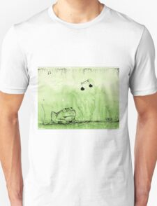 Hungry Frog - Swamp Music Unisex T-Shirt
