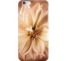 Sepia White Flower Floral Garden Flowers iPhone Case/Skin