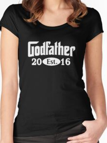 Godfather 2016 Women's Fitted Scoop T-Shirt