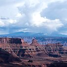 The view from Dead Horse Point, Moab Utah by barnsis