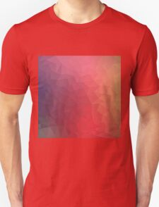 Pattern Red Purple Cool Unisex T-Shirt