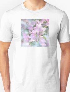 SPRING BLOSSOMS SQUARE FORMAT Unisex T-Shirt