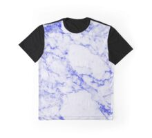 MARBLE BLUE Graphic T-Shirt