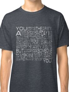 Person of Interest Classic T-Shirt