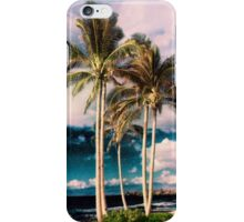 Tropical Retro Palm Tree Vintage Hawaiian Palms iPhone Case/Skin