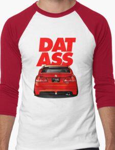 CIVIC DAT ASS Men's Baseball ¾ T-Shirt