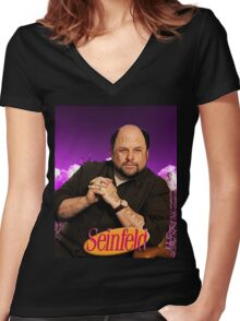 Cripstanza - Memefeld  Women's Fitted V-Neck T-Shirt