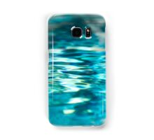 Shimmering Blue Water Ocean Sea Lake Pool Ripples Samsung Galaxy Case/Skin