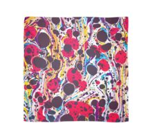 Psychedelic Vintage Marbled Paper Pepe Psyche Scarf