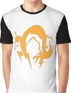 Metal Gear Fox Unit Art Graphic T-Shirt