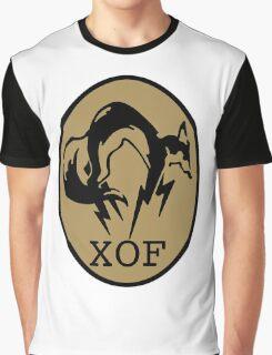 Metal Gear XOF Unit Art Graphic T-Shirt