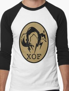 Metal Gear XOF Unit Art Men's Baseball ¾ T-Shirt