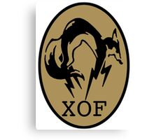 Metal Gear XOF Unit Art Canvas Print