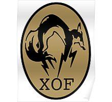 Metal Gear XOF Unit Art Poster