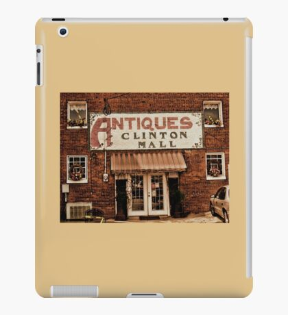 """""""Antiques, Clinton Mall, #1""""... prints and products iPad Case/Skin"""