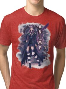Anime Succubus Tri-blend T-Shirt