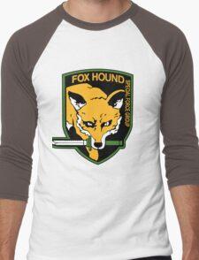 FOX HOUND Art Men's Baseball ¾ T-Shirt