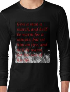 Witty Quote Long Sleeve T-Shirt
