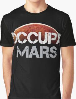 Occupy Mars - Tshirt  Graphic T-Shirt