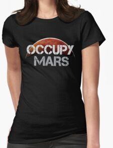 Occupy Mars - Tshirt  Womens Fitted T-Shirt